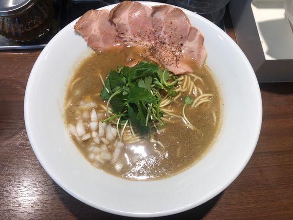「濃厚烏賊煮干中華そば780円」@麺屋 ねむ瑠の写真