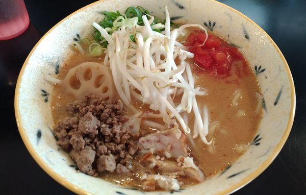 「濃厚味噌ラーメン」@みそ味専門マタドールの写真