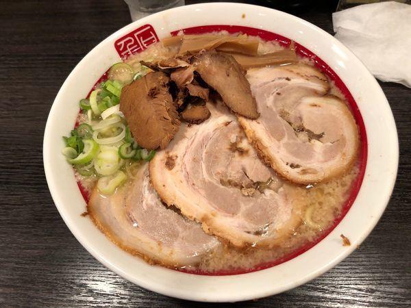 「チャーシュー麺中盛」@千石自慢ラーメン 本店の写真