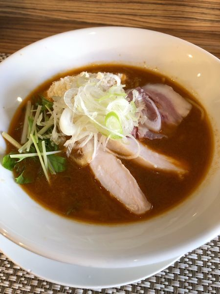 「海老ラーメン」@つけ麺 和の写真