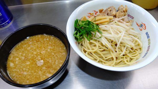 「つけ麺(夏期間)900円」@ホープ軒 千駄ヶ谷本店の写真