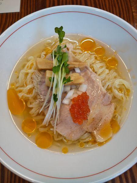 「【限定】冷た~いトマトSOBA700円」@拉麺 イチバノナカの写真