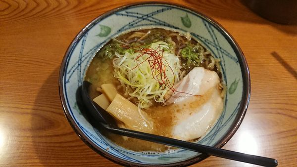 「鶏塩かつおラーメン 780円」@とり丸の写真