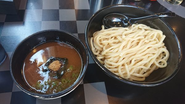 「つけ麺 黒 800円」@麺屋白虎 甲府店の写真