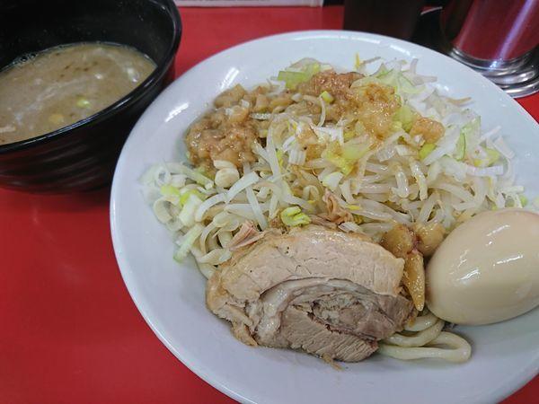 「つけ麺(並)+味玉(950円)」@ラーメン一心の写真