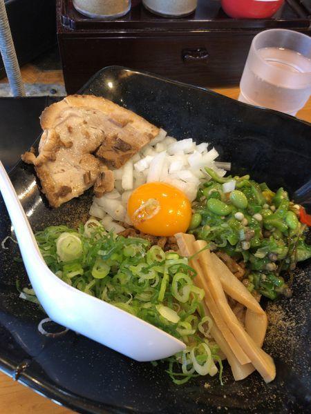 「夏野菜まぜそば」@三代目 藤村商店の写真