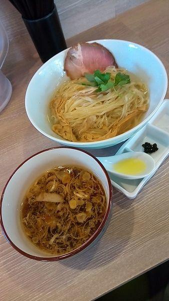 「昆布水つけ麺900円」@中華そば 和渦 TOKYOの写真