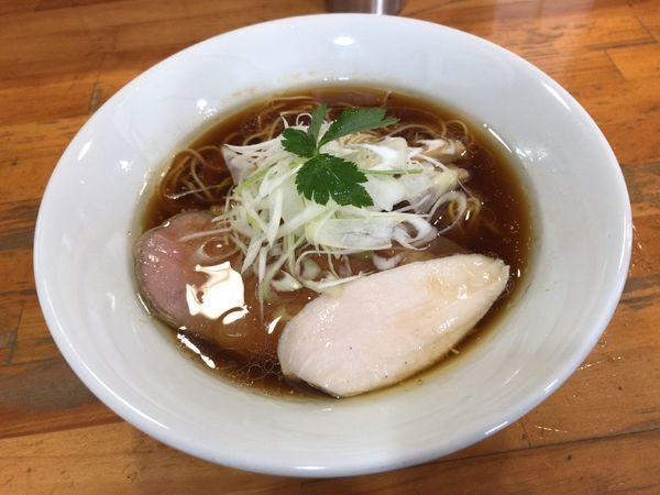 「地鶏そば(醤油)」@麺屋 むじゃきの写真