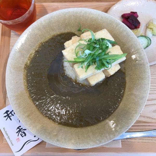 「餡掛け揚げ出し豆腐カレー」@和乃香の写真