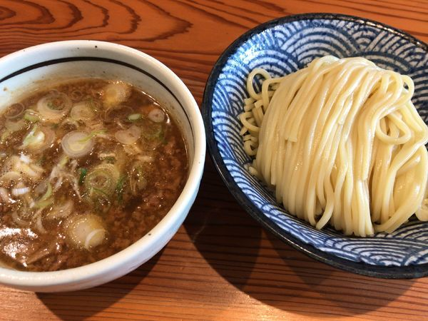 「つけそば(醤油)」@麺 一直の写真
