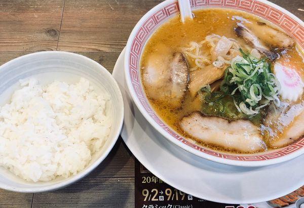 「味噌(固め¥440)+ライス(¥170)」@幸楽苑 平河町店の写真