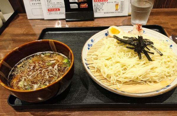 「江戸つけ麺 少なめ」@らーめんばる ととやの写真