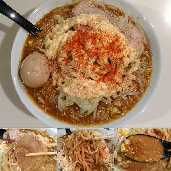 「スープカレーそば+マヨ=880円」@麺家ぶんすけの写真