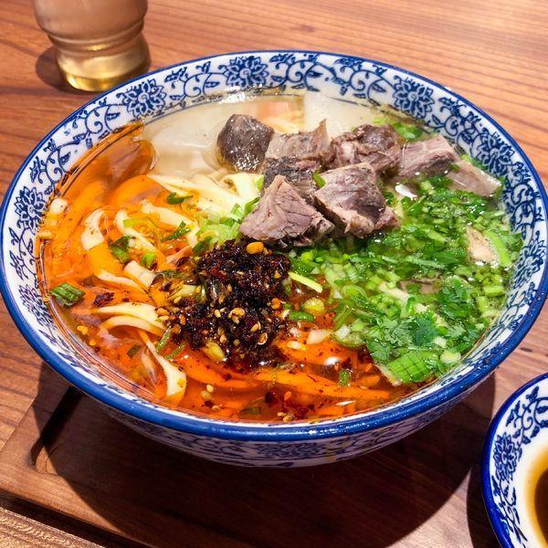「蘭州拉麺(茶葉蛋付)」@蘭州拉麺 一天一面の写真