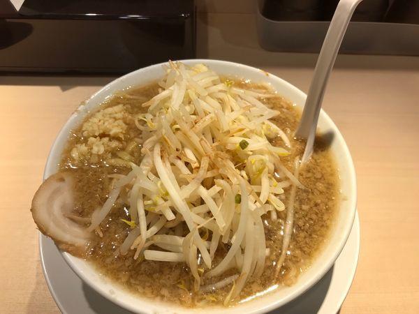 「三郎ラーメン 中盛 230g 800円 野菜,ニンニク普通」@麺屋 三郎の写真
