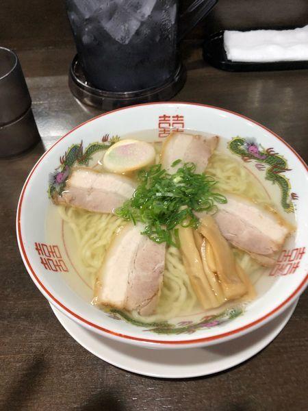 「中華そば 塩 680円」@自家製麺中華そば 番家の写真