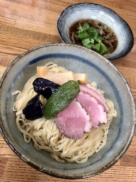 「キクヤ風鴨南蛮つけ麺 ¥980」@㐂九家の写真
