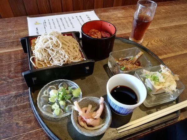 「麺と小丼せっと」@大鳥屋料理店の写真