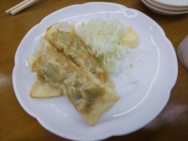 「揚げ餃子 350円」@ラーメン いのよしの写真