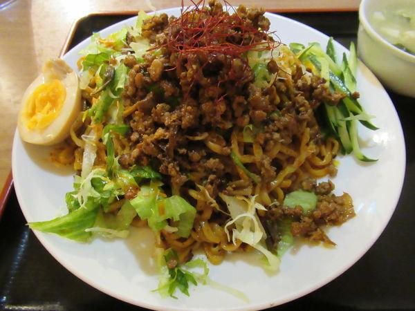 「汁なし担々麺(780円)」@揚子江の写真