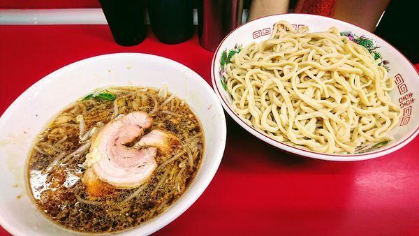「つけ麺(ヤサイ少なめ・ニンニク)」@ラーメン二郎 湘南藤沢店の写真