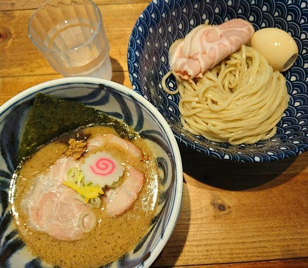 「特濃つけそば(小)+全部のせ(1200円)」@麺屋 坂本01 新潟駅前店の写真