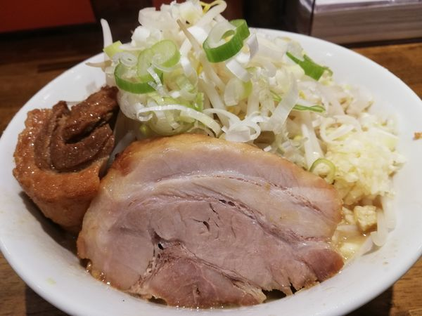 「らーめん豚一切れ」@ちばから 経堂店の写真