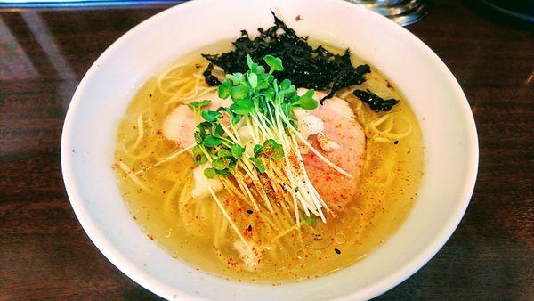 「【限定】金のヒヤニボ+香醋の和え玉」@東池袋大勝軒 みしまの写真