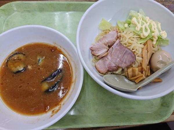 「新みそつけ麺+煮卵(900円)」@ラーメン 東横 笹口店の写真