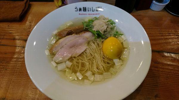 「味玉塩らぁ麺_890円」@らぁ麺 いしばしの写真