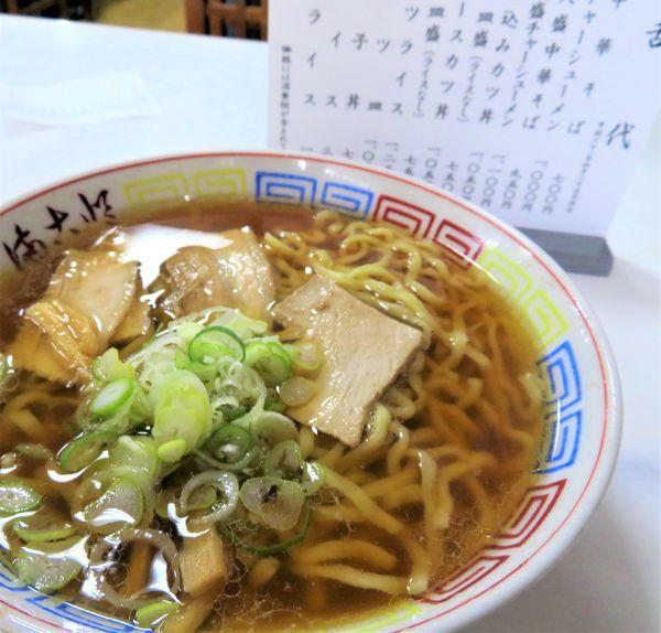 「中華そば(700円)」@まこと食堂の写真