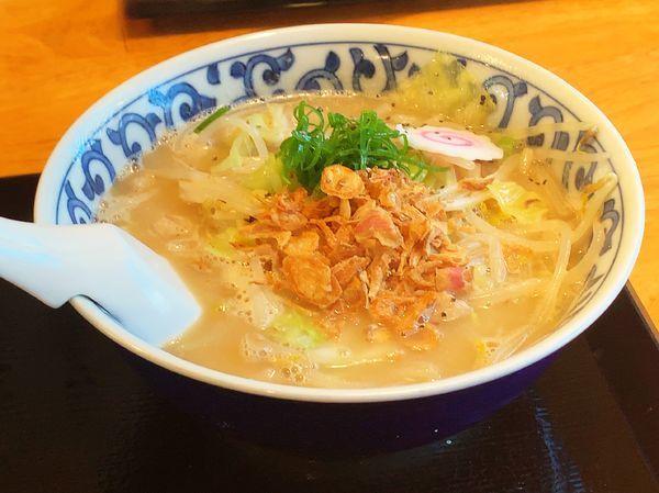 「豚骨野菜タンメン」@豚骨中華そば おかわりやの写真