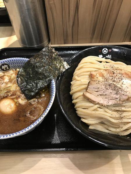 「つけ麺 大盛」@麺屋 たけ井 阪急梅田店の写真