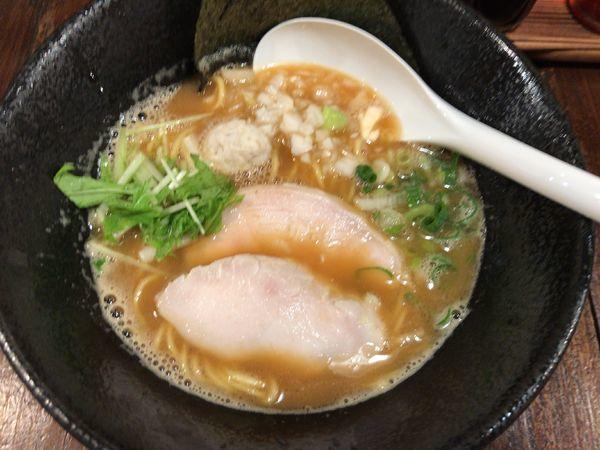 「濃厚鶏醤油そば700円」@麺屋 先ずはの写真