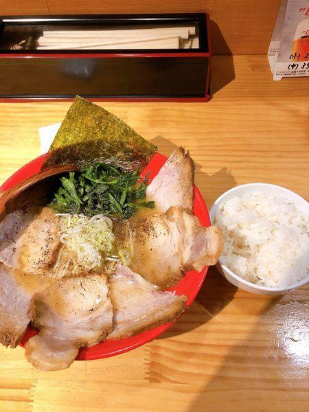「チャーシューメン」@麺屋うしまるの写真