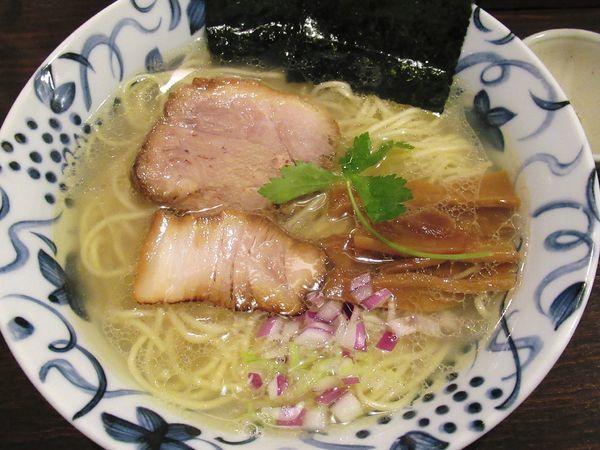 「【限定】鯛塩らぁめん(830円)」@中華そば 東京ぐれっちの写真