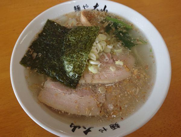 「しおらーめん」@青竹手打ちラーメン 麺や大山の写真