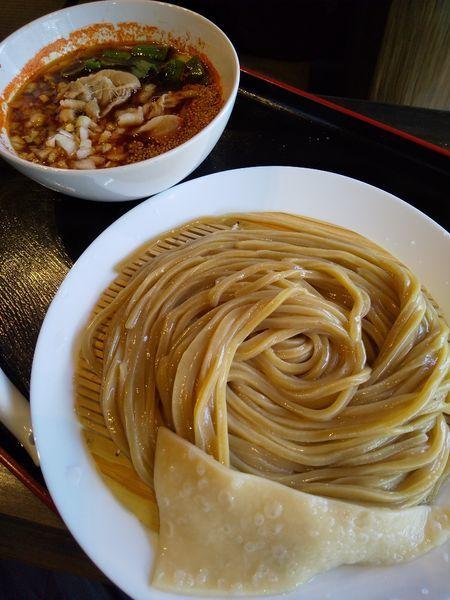 「【期間限定】赤肉汁うどん(並)税込950円(ハイブリッド麺)」@自家製うどん うどきちの写真
