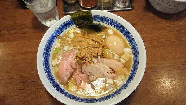 「特製濃厚豚骨魚介らーめん」@麺処 はら田の写真