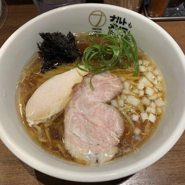 「秋刀魚煮干しの冷やしラーメン880円。」@ナルトもメンマもないけれど。の写真