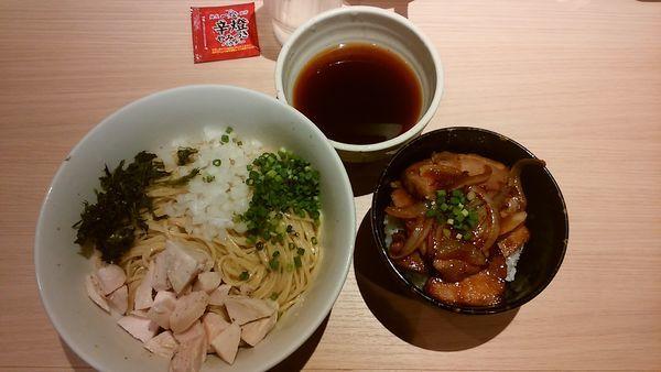 「冷やしあえつけ麺」@麺屋 一燈の写真