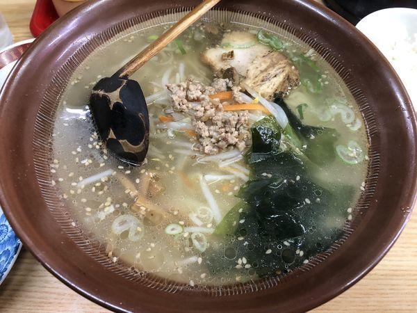 「塩ラーメン810円(ランチセット)」@コタン 西荻窪店の写真