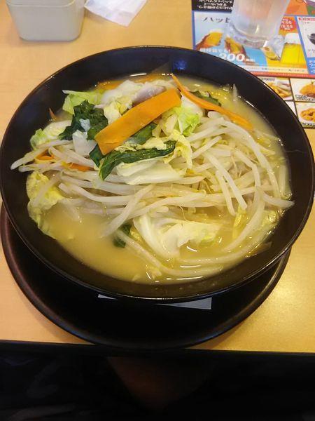 「1日分の野菜のベジ塩タンメン大盛り863円」@ガスト 東久留米店の写真