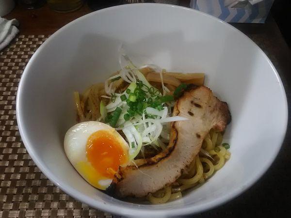 「汁なし醤油670円」@麺丼Dining 夢者の写真
