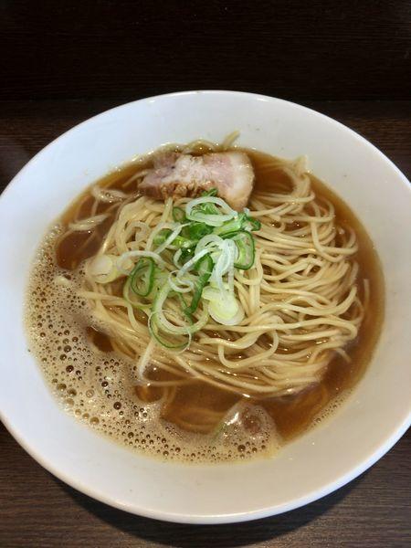 「煮干しそば(並盛)」@麺処 遊 蕨店の写真