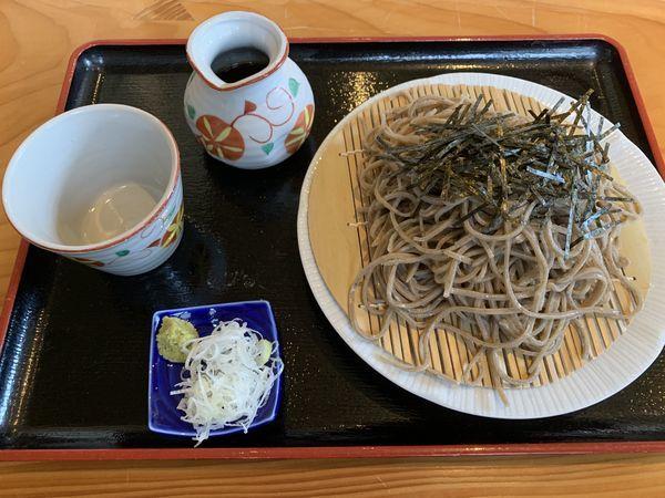「ざるそば750+大盛250=1000円」@手打ち日本蕎麦 松平の写真