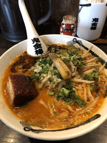 「カラシビ味噌ラーメン」@カラシビ味噌らー麺 鬼金棒の写真