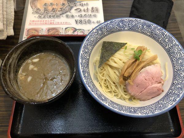 「濃密煮干しつけ麺カエシオフ」@麺処 いぐさの写真
