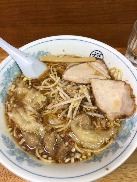 「ワンタン麺770円」@丸福 西荻店の写真