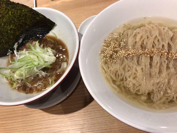 「昆布つけ麺」@初代葱寅 御茶ノ水店の写真